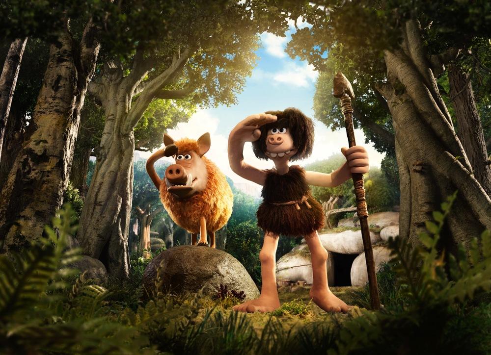 I Primitivi: un'immagine tratta dal film d'animazione