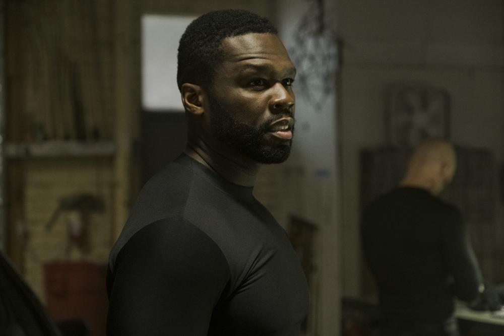 Nella tana dei lupi: 50 Cent in una scena del film