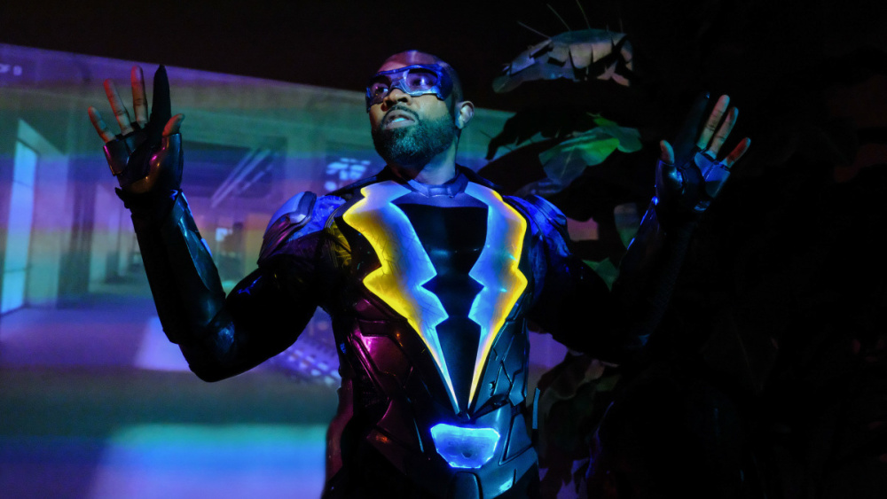Black Lightning: una scena con Cress Williams