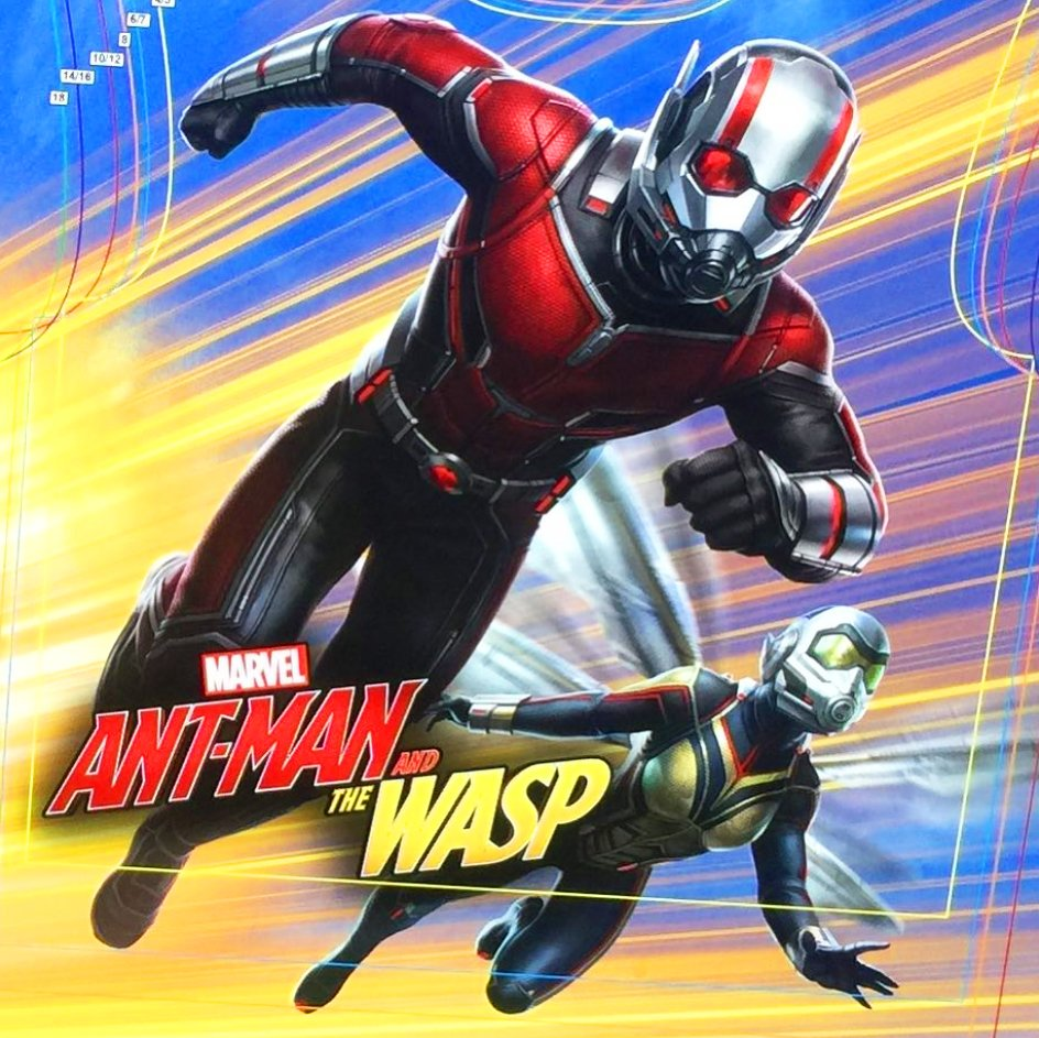 Ant-Man and the Wasp: un banner promozionale del film
