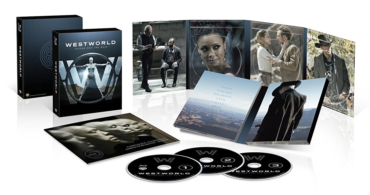 Il packaging di Westworld