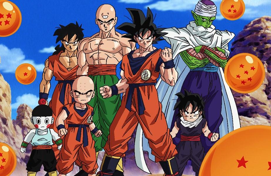 Dragon Ball Z: un'immagine con i protagonisti dell'anime