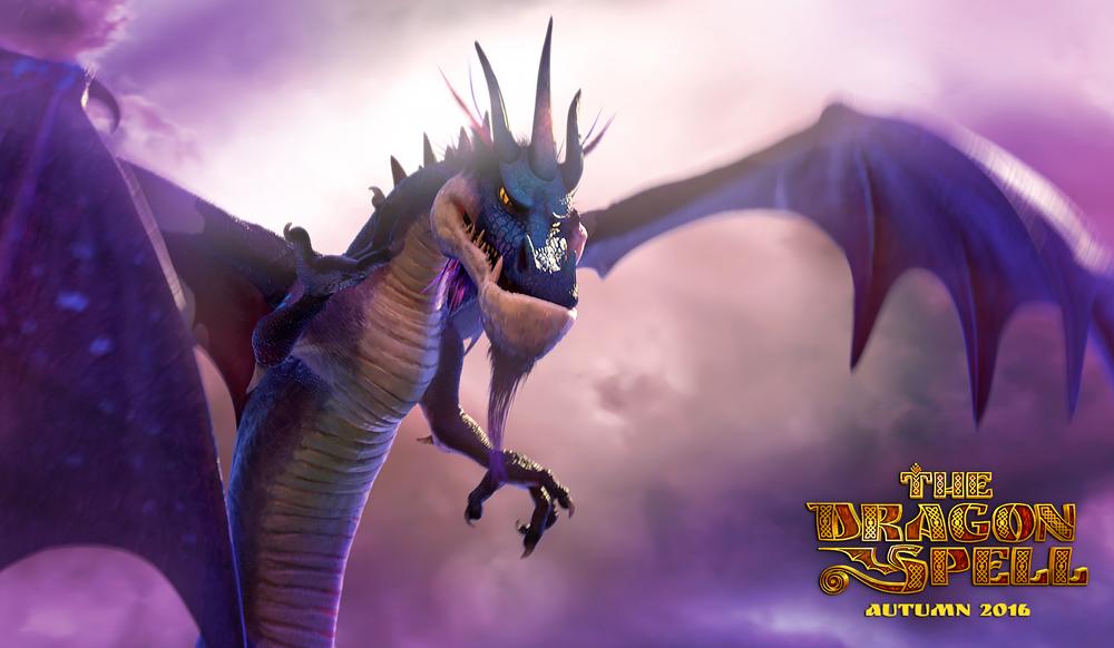 L'incantesimo del drago: un'immagine tratta dal film d'animazione