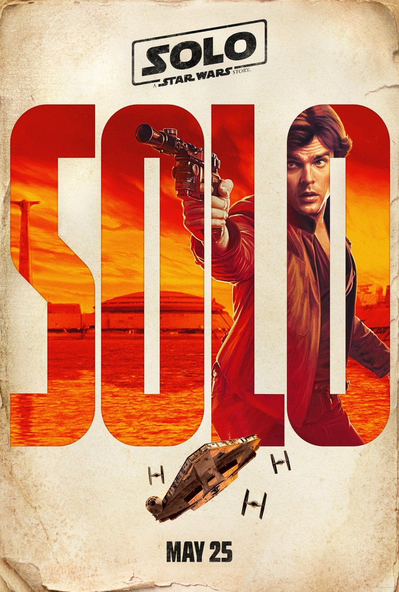 Solo: A Star Wars Story, il character poster di Han Solo