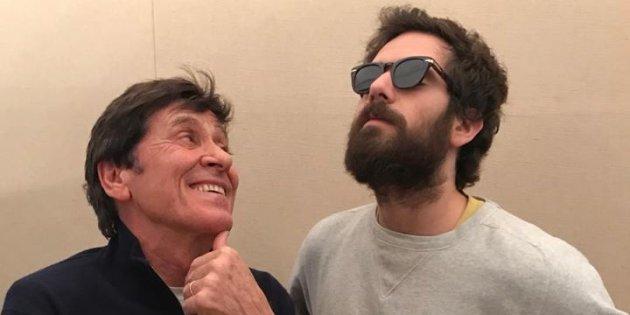 Gianni Morandi e Tommaso Paradiso