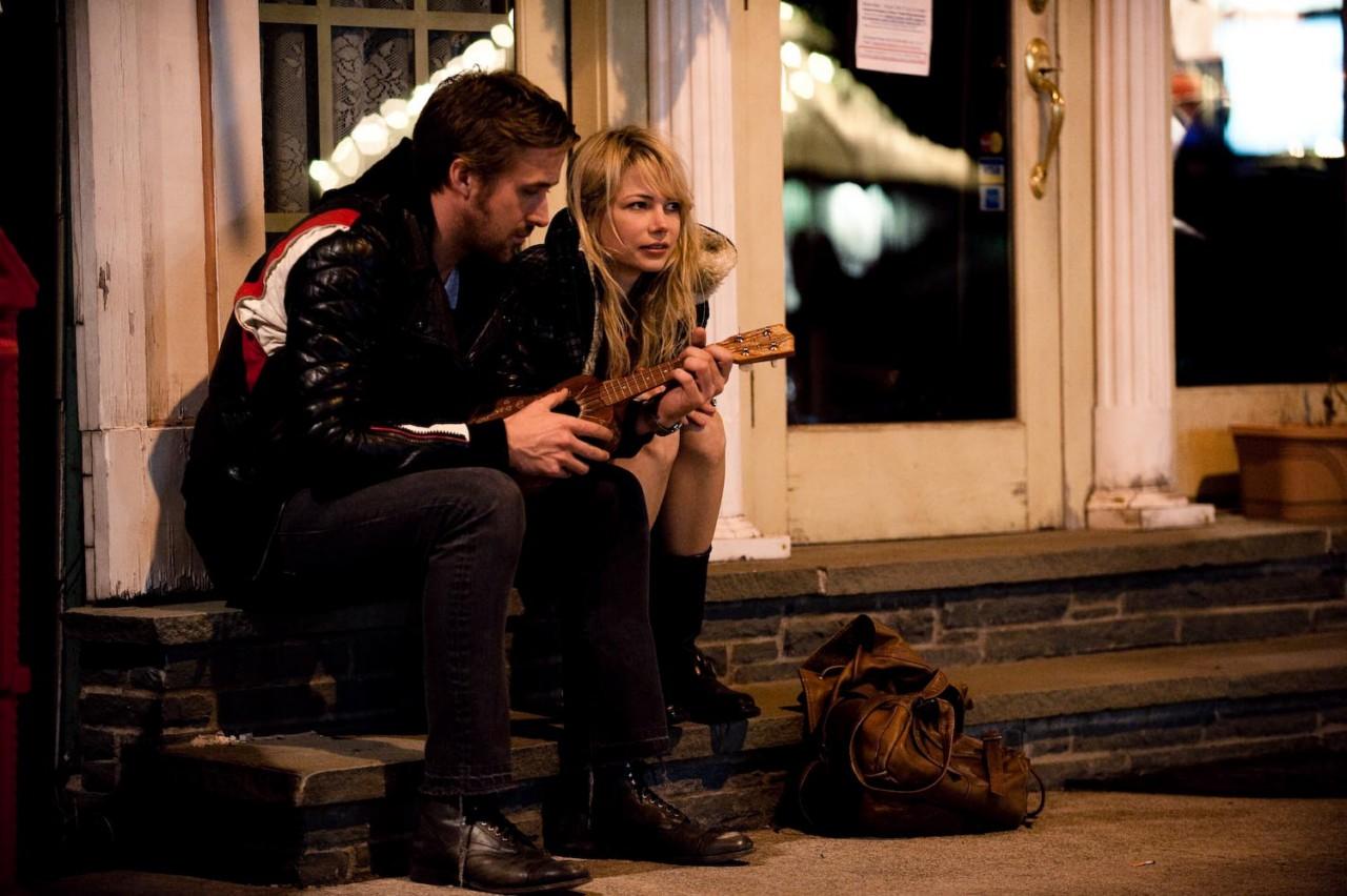 Ryan Gosling e Michelle Williams in una scena del film Blue Valentine