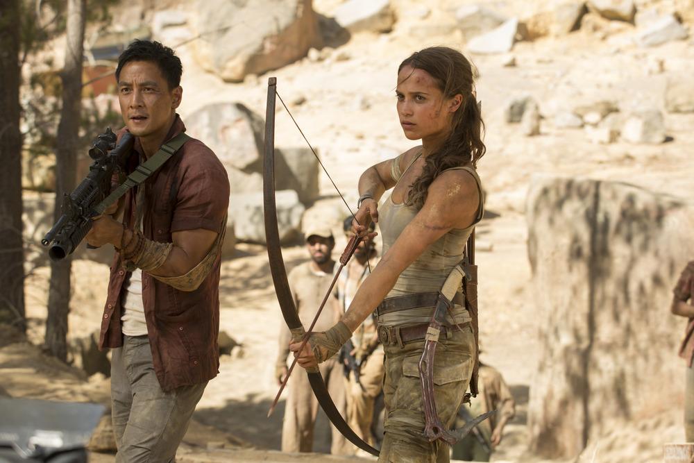 Tomb Raider: Alicia Vikander in una foto del film