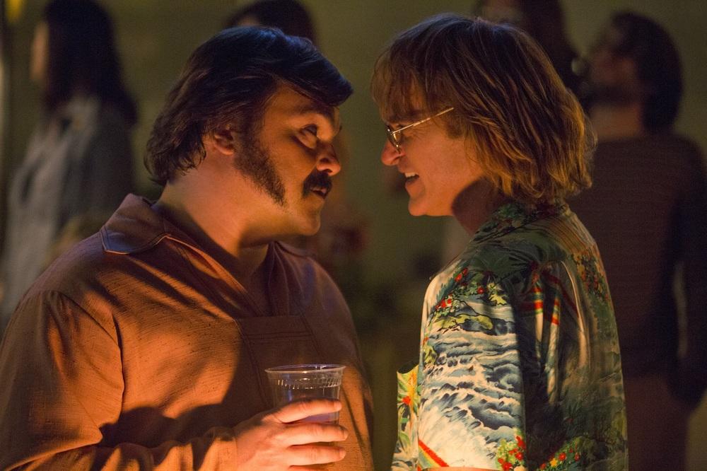 Don't Worry, He Won't Get Far on Foot: Joaquin Phoenix e Jack Black in una scena del film