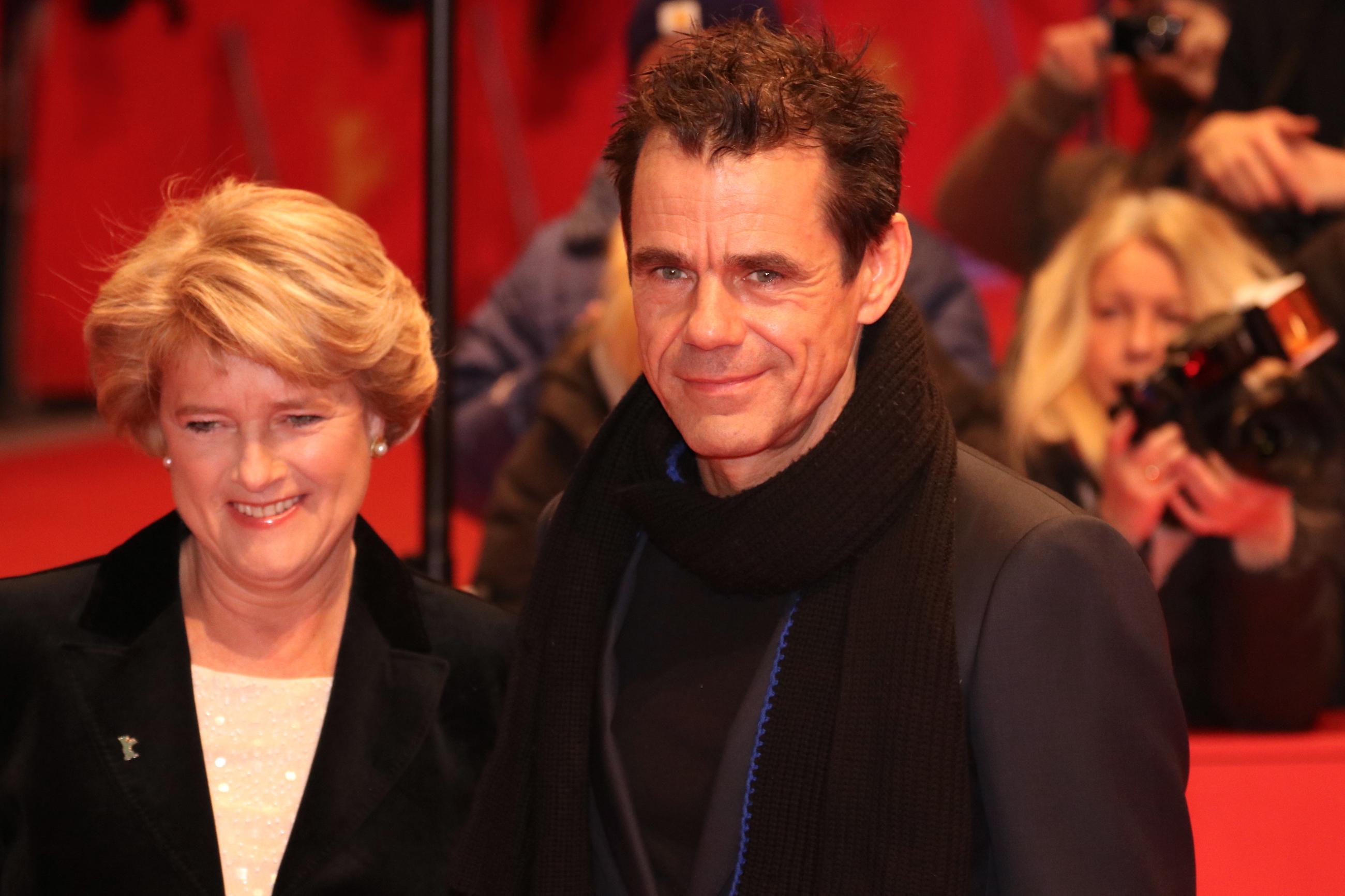 Berlino 2018: Tom Tykwer sul red carpet di apertura
