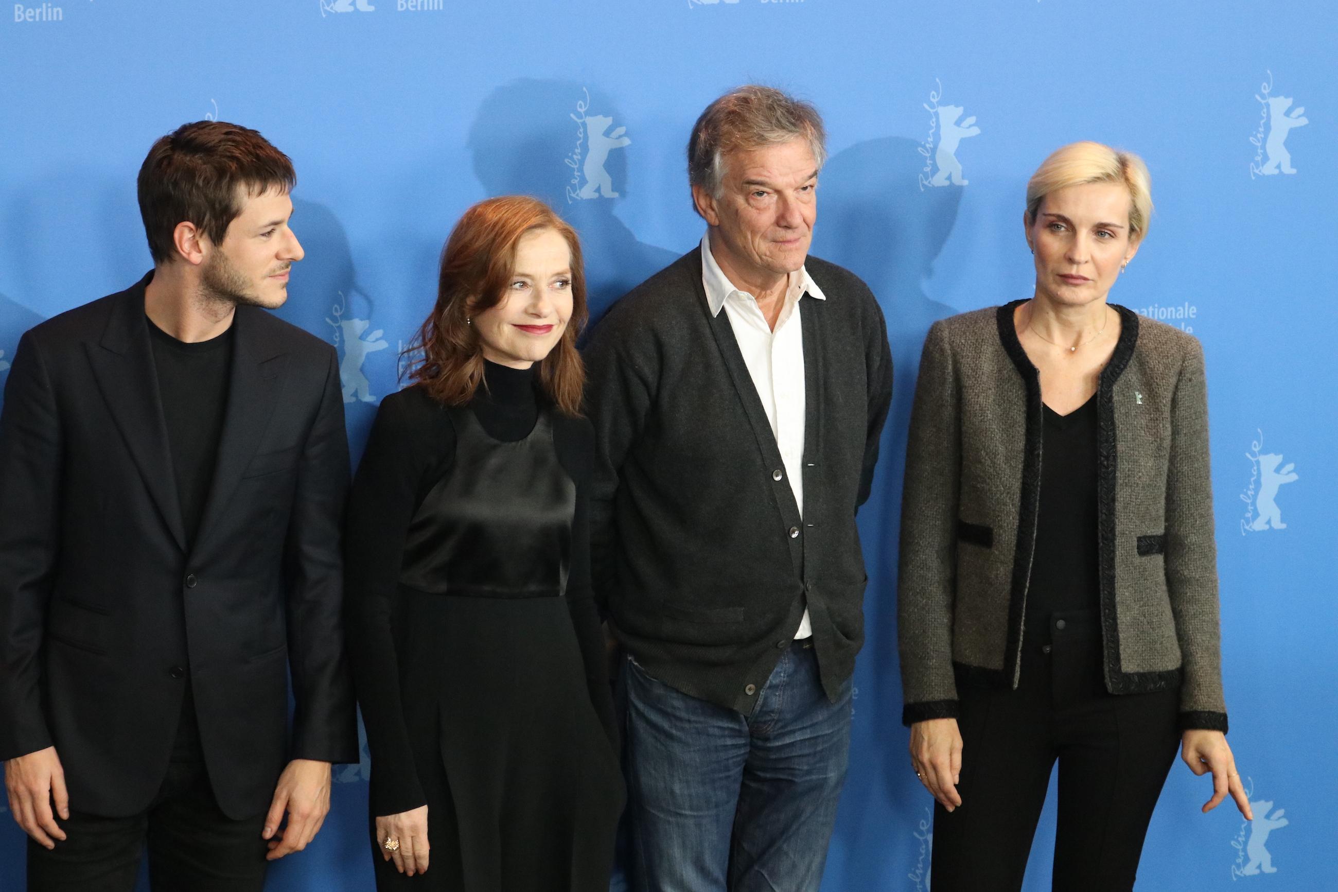 Berlino 2018: il cast al photocall di Eva