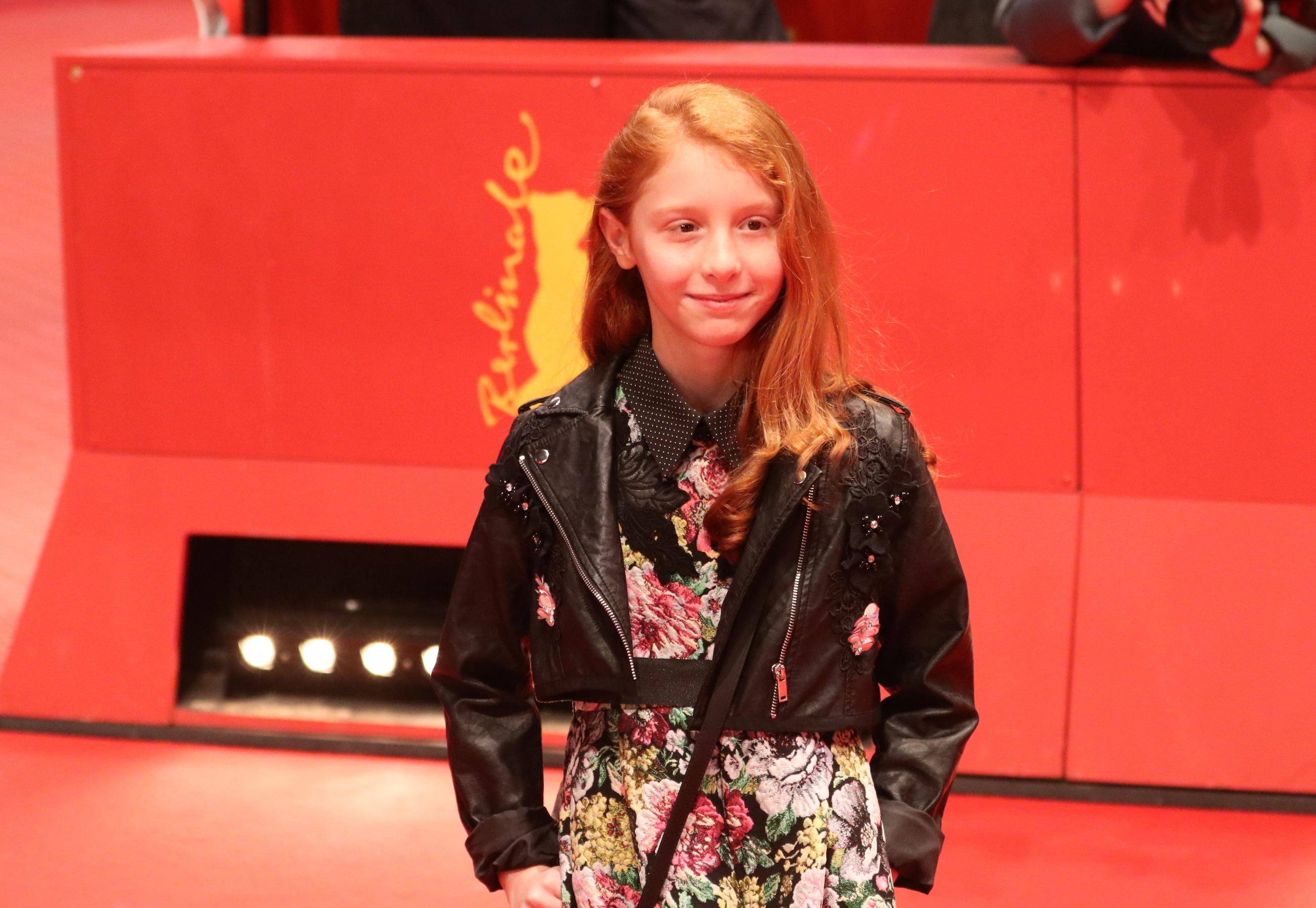 Berlino 2018: Sara Casu sul red carpet di Figlia mia