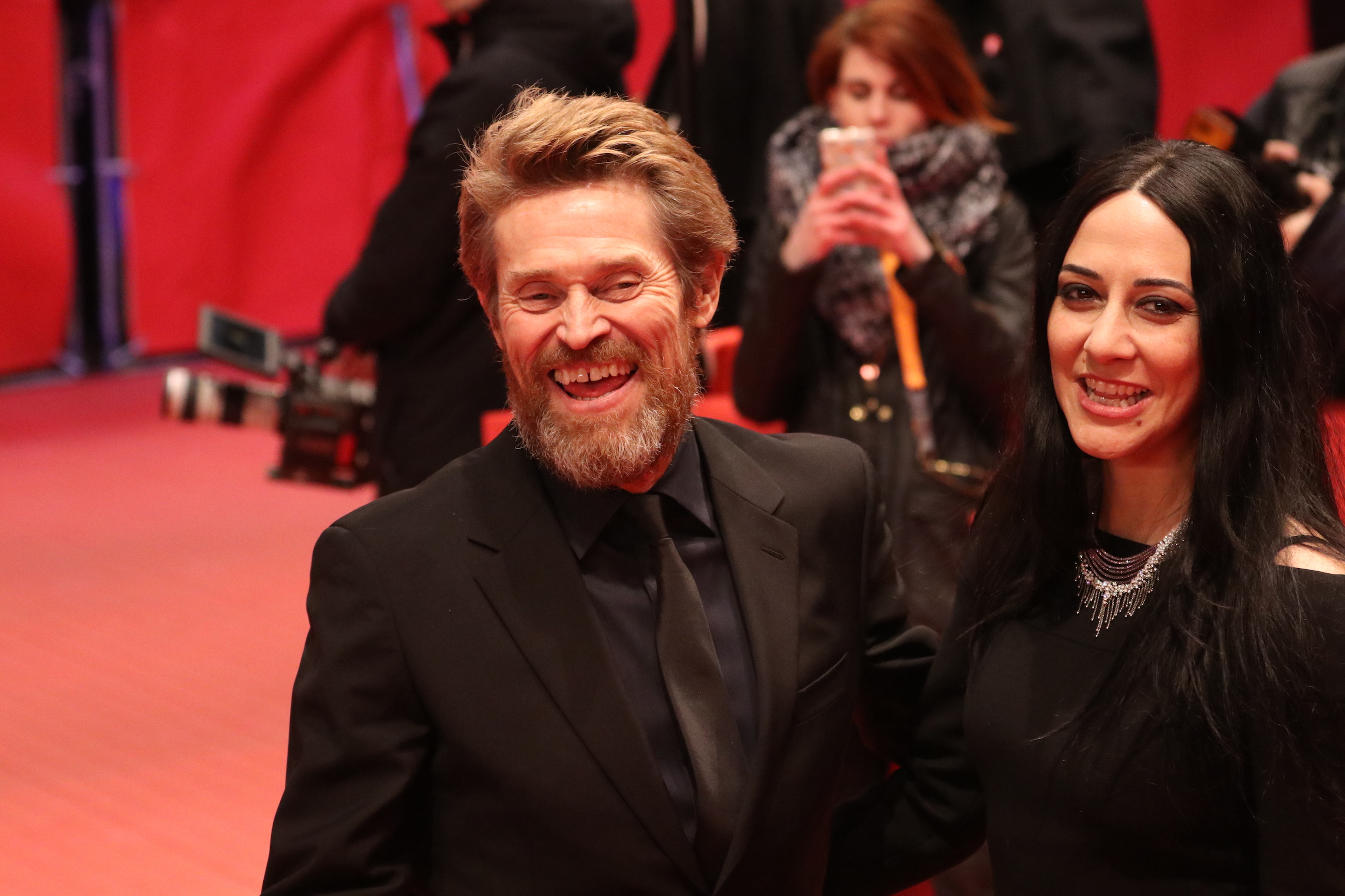 Berlino 2018: Willem Dafoe sul red carpet