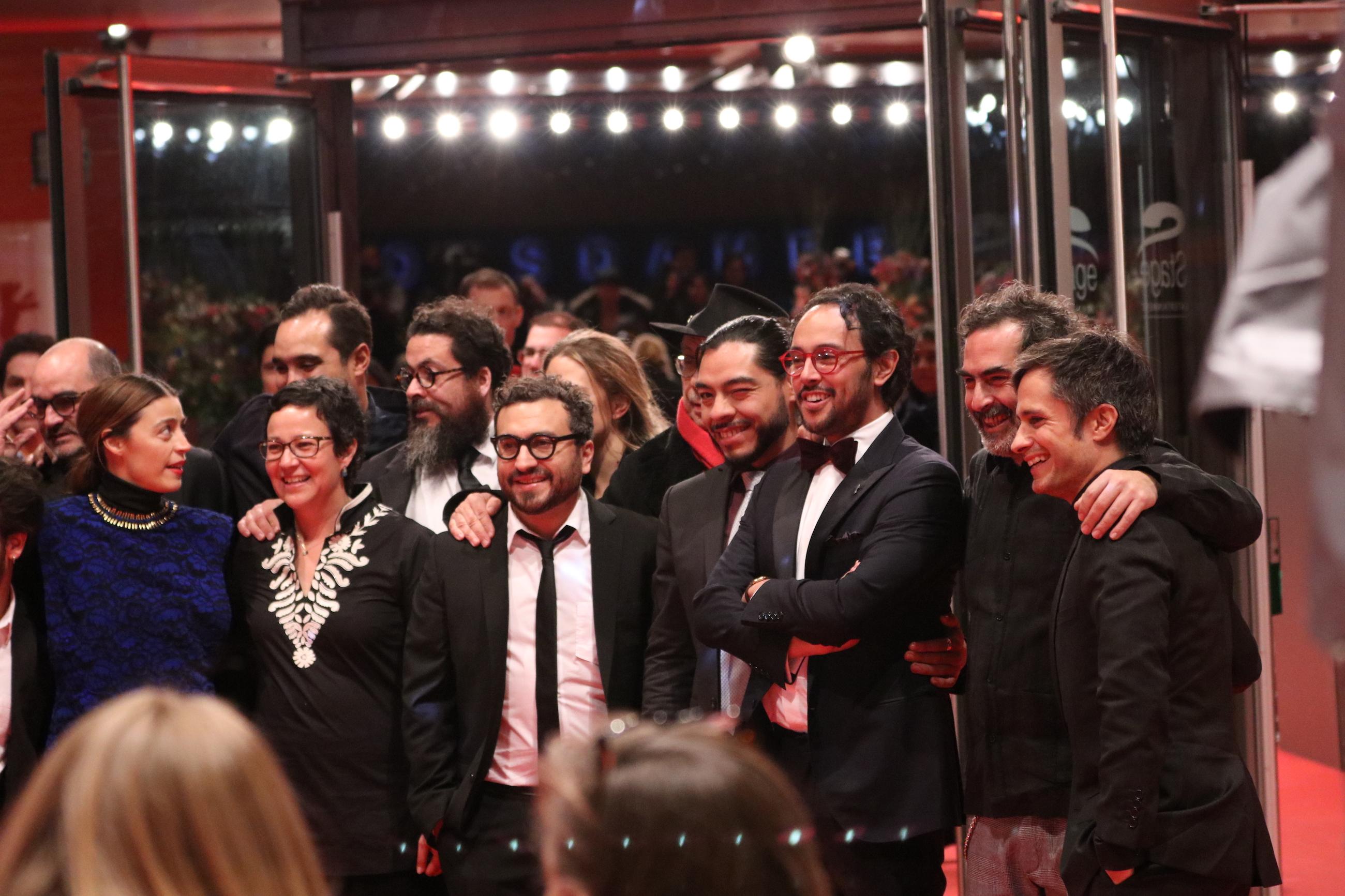 Berlino 2018: il cast sul red carpet di Museum