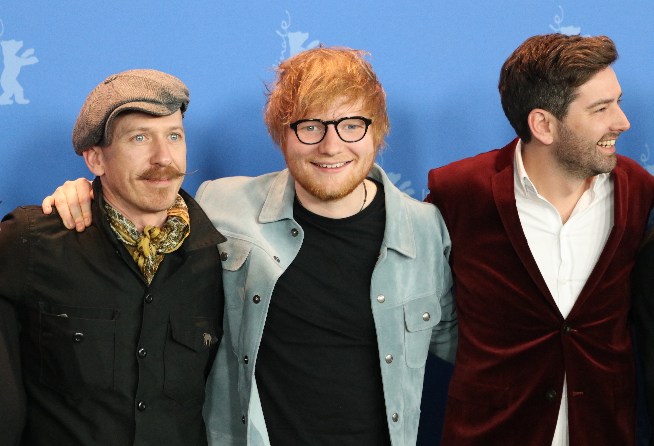 Berlino 2018: Ed Sheeran e Murray Cummings al photocall di Songwriter