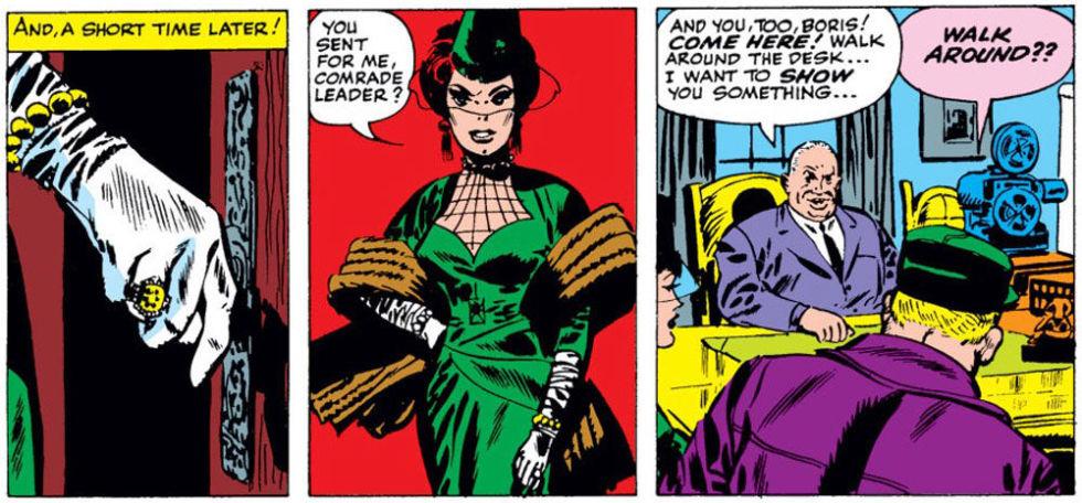 Avengers: Infinity War, la prima apparizione di Black Widow nei fumetti