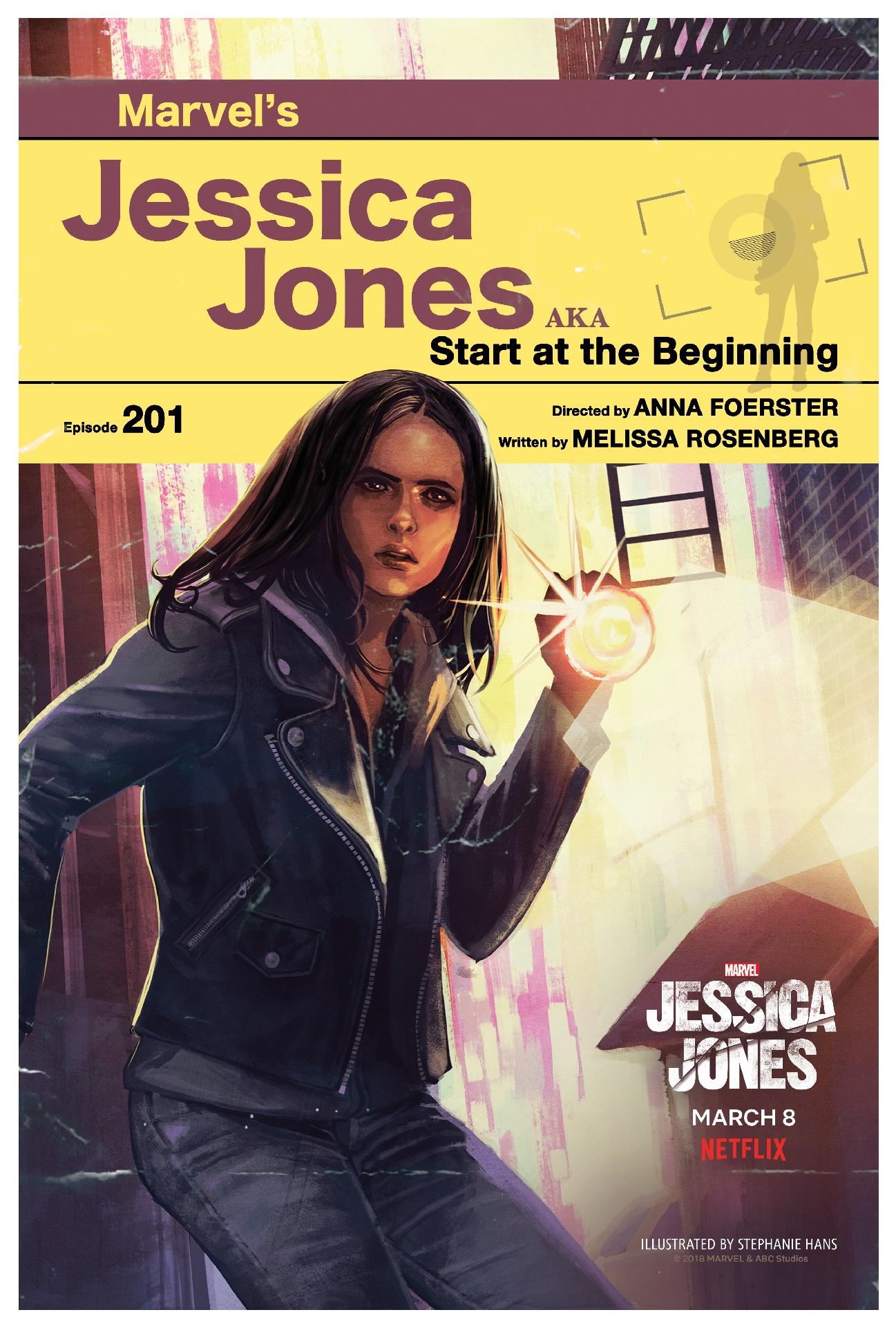 Jessica Jones: una delle tredici locandine creata per la seconda stagione