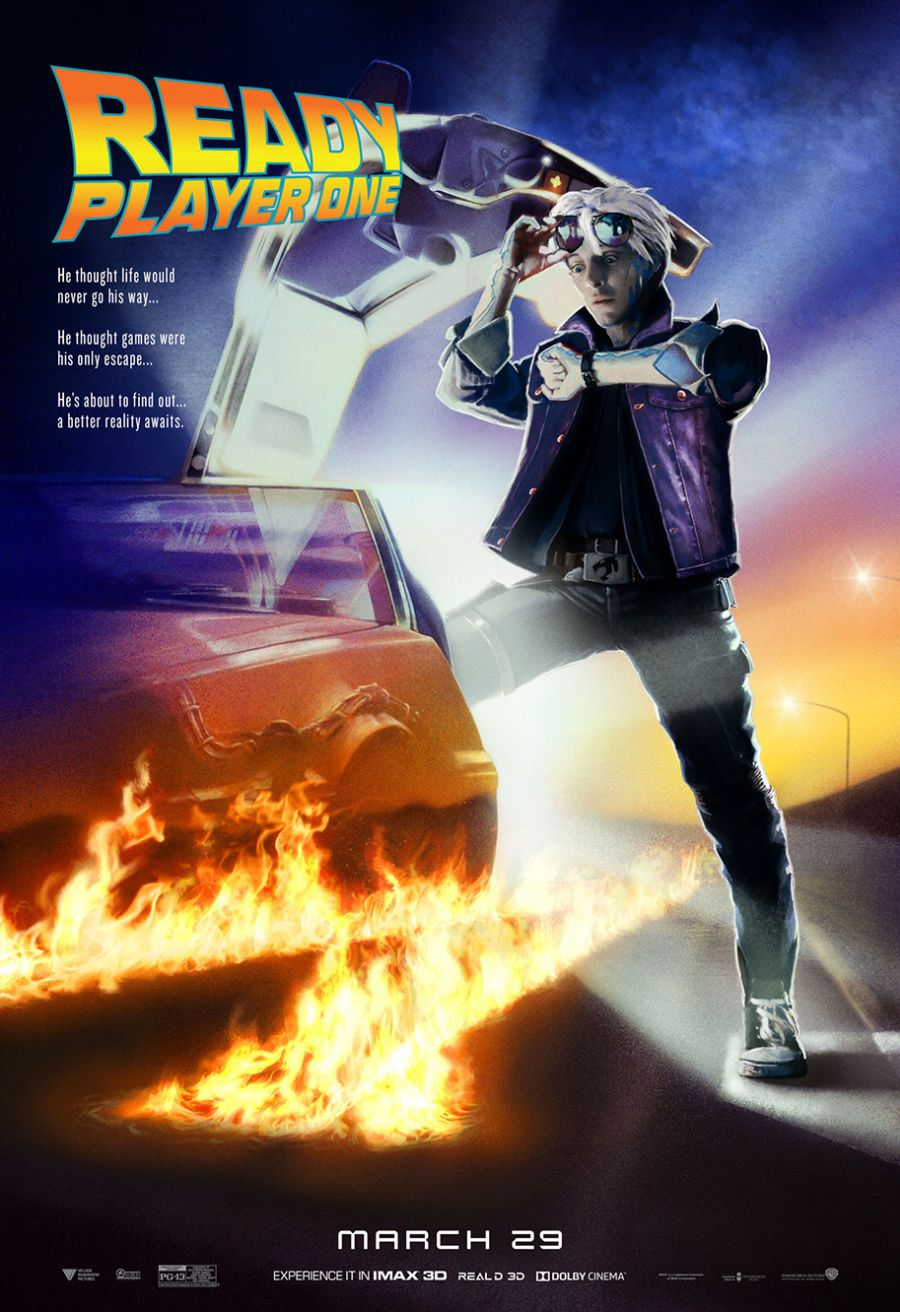 Ready Player One: uno dei poster ispirati ai classici del cinema