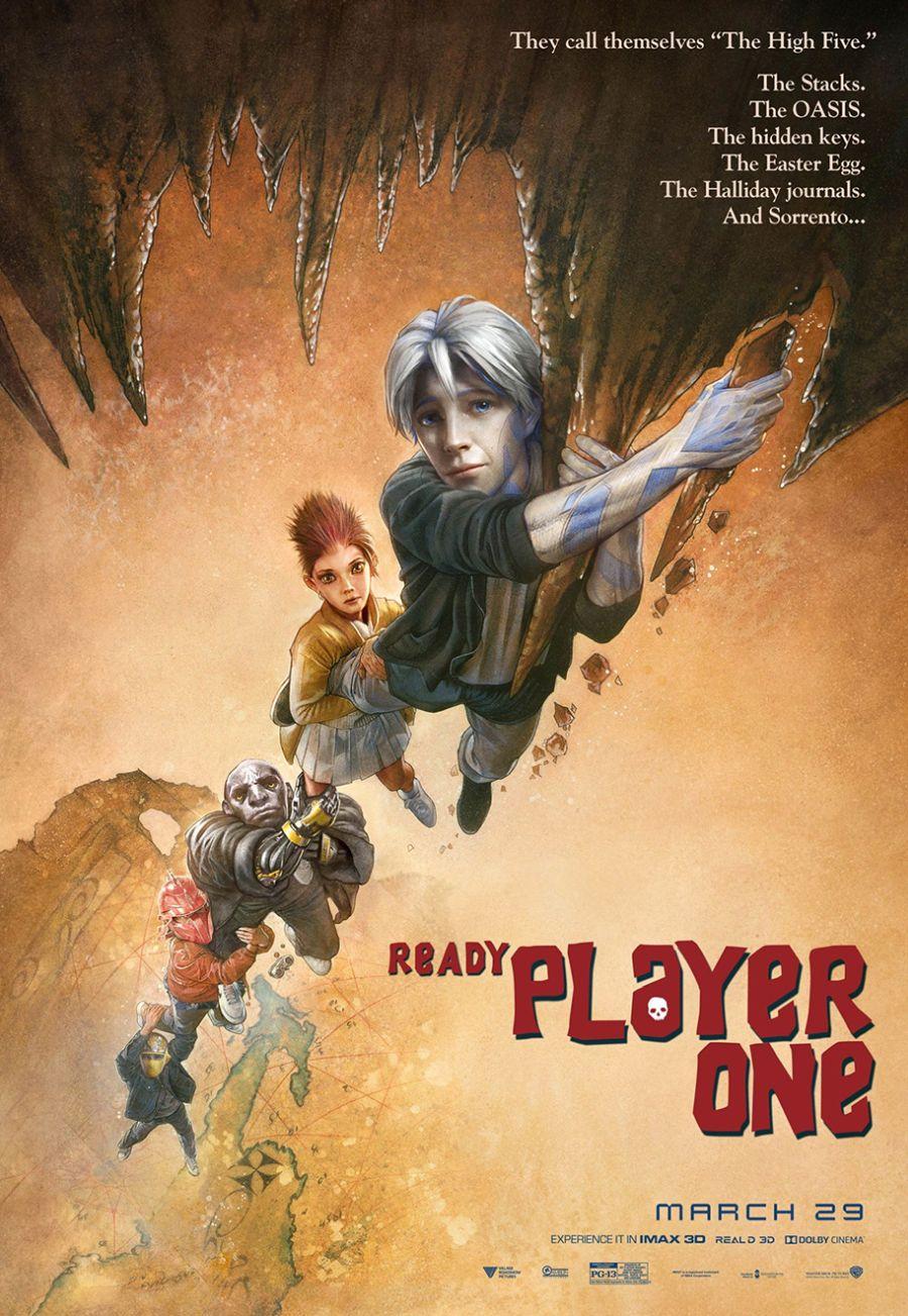 Ready Player One: uno dei poster creati per il film