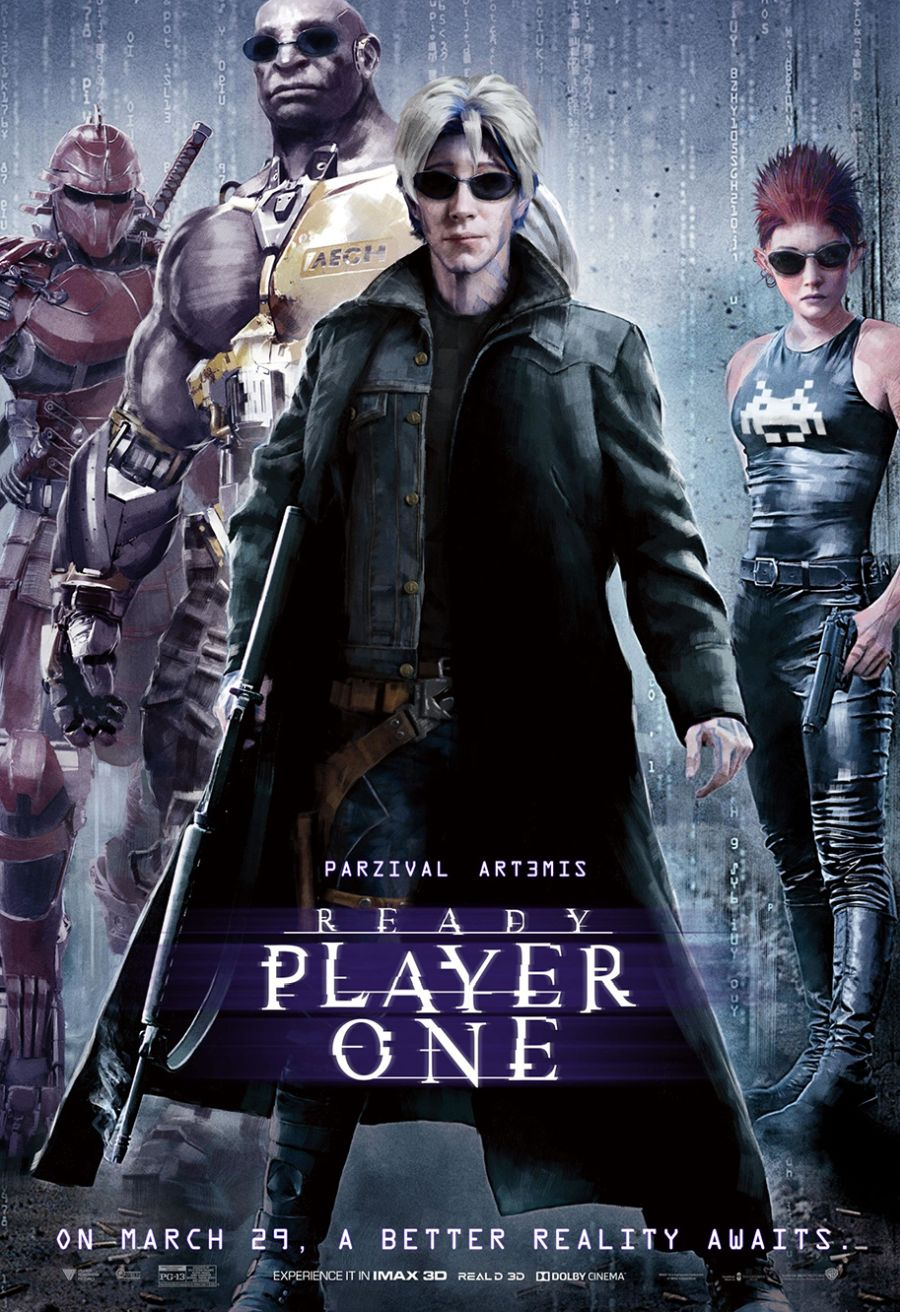Ready Player One: un poster ispirato a Matrix