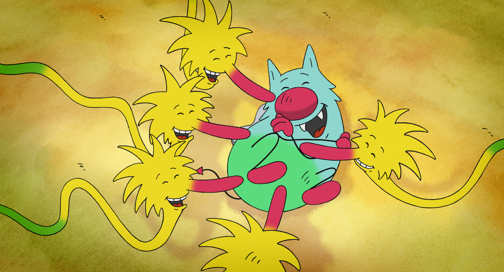 Molly Monster: un'immagine del film d'animazione