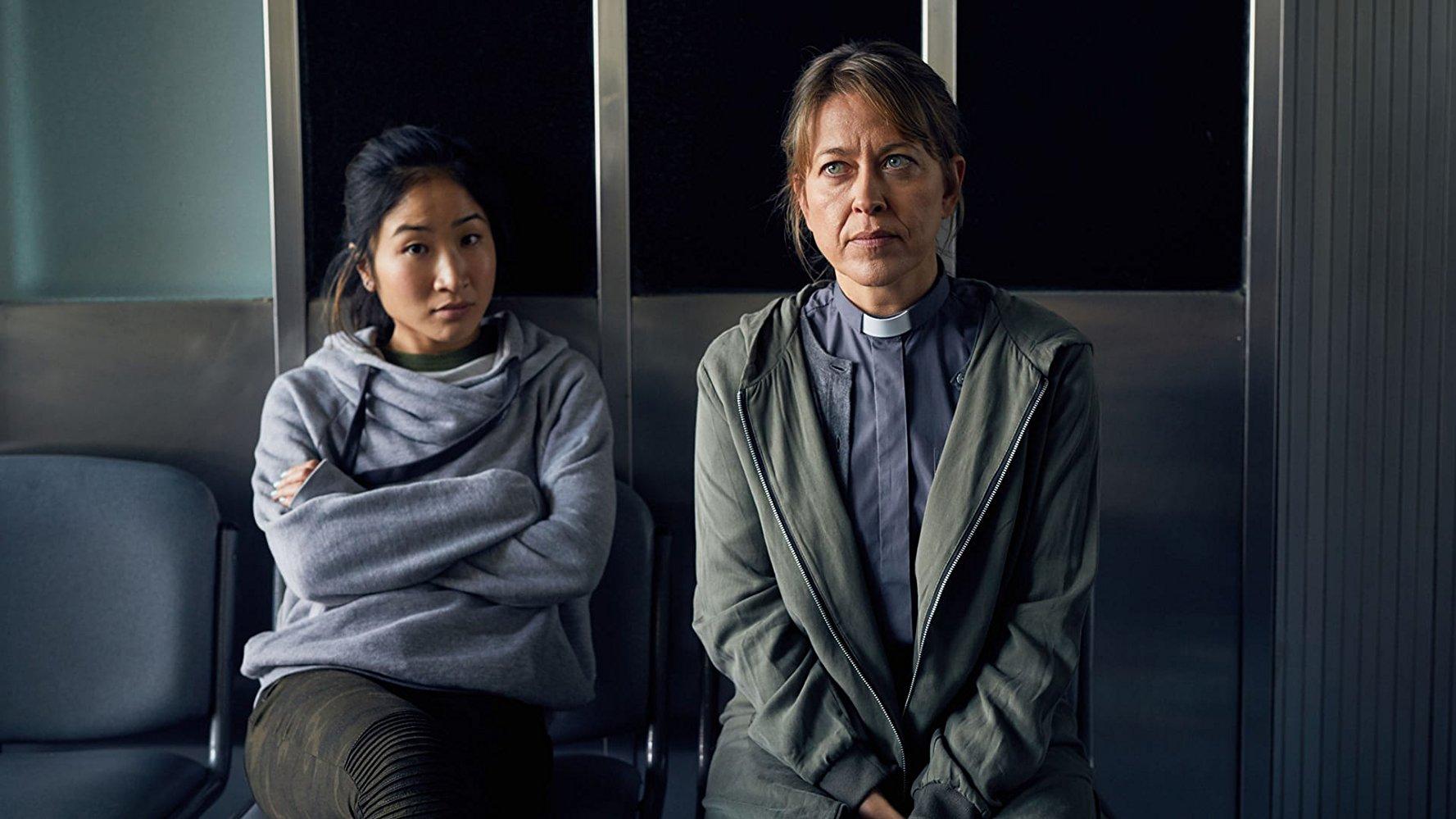 Collateral: Nicola Walker e Kae Alexander in una scena della serie