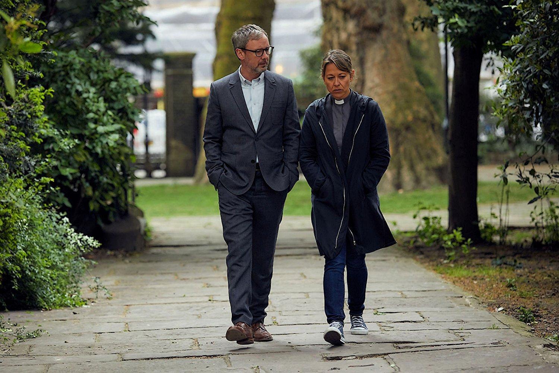 Collateral: Nicola Walker e John Simm in una scena della serie