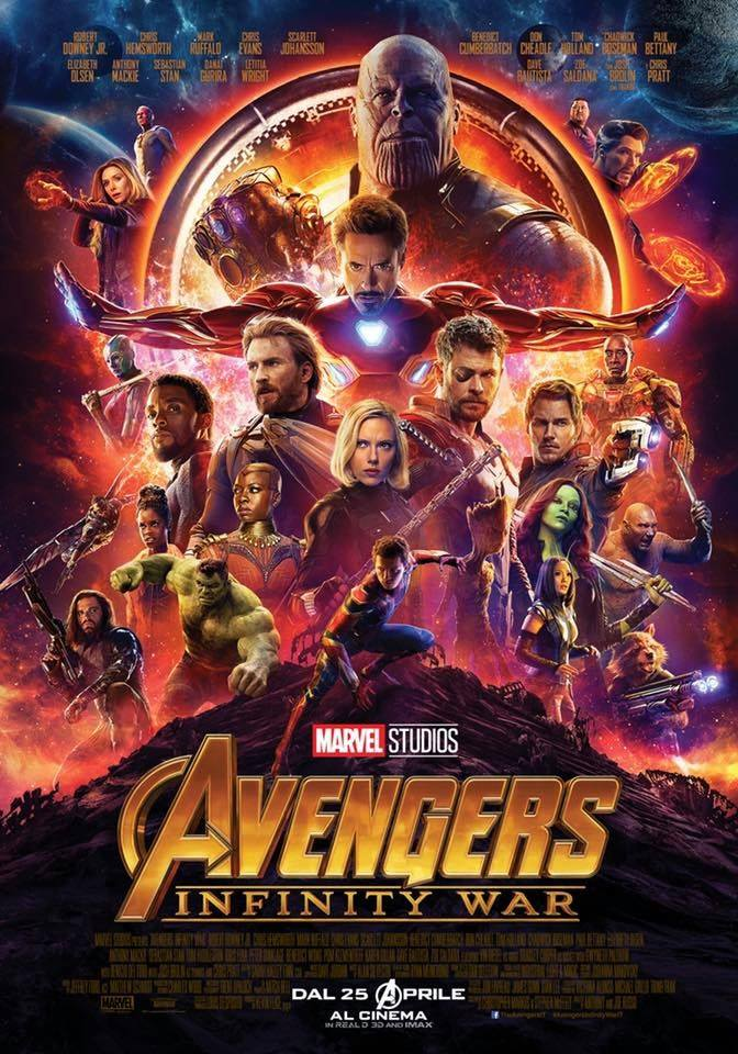 Avengers: Infinity War - il poster
