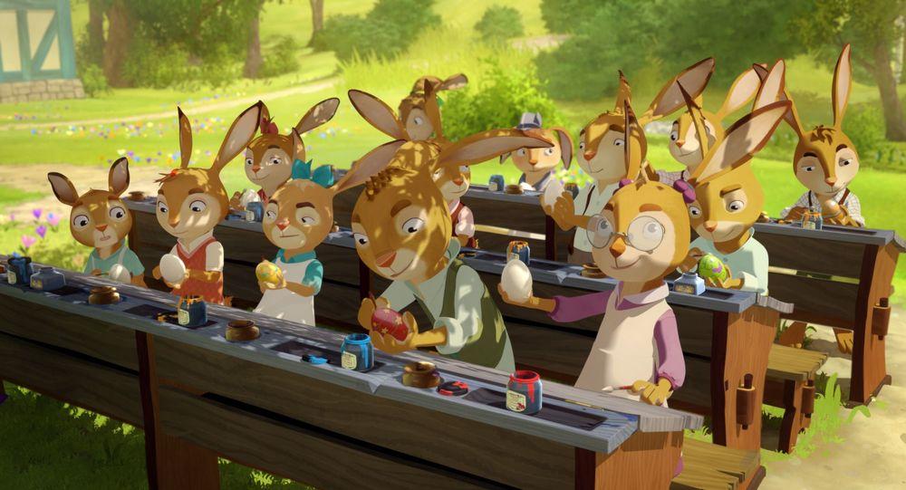 Rabbit School - I Guardiani dell'Uovo d'Oro: un'immagine tratta dal film d'animazione