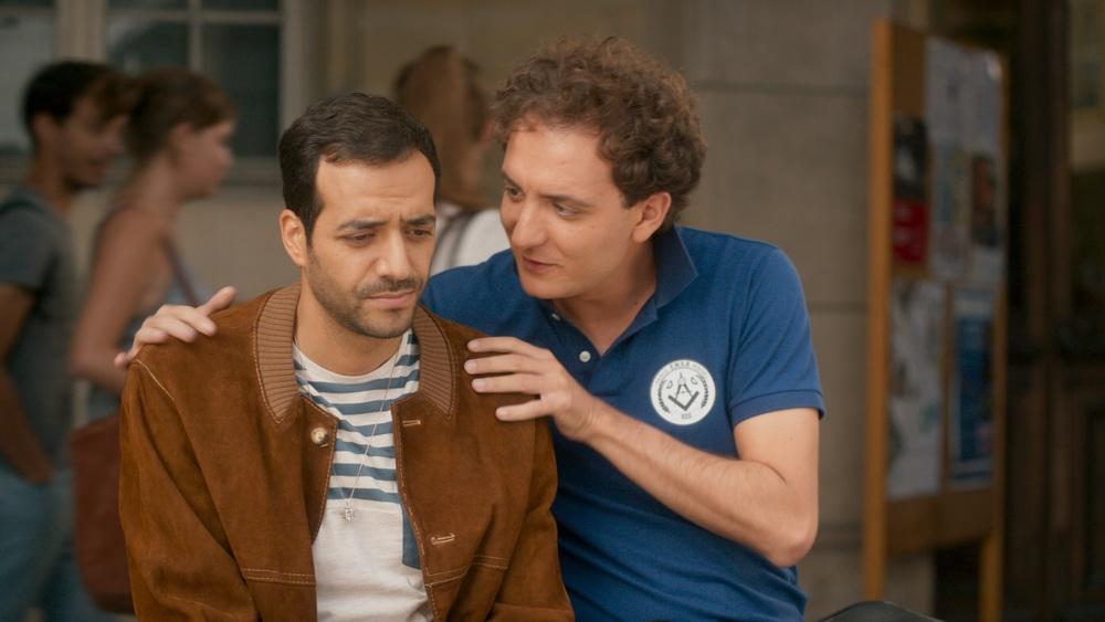Sposami, stupido!: David Marsais e Tarek Boudali in un momento del film