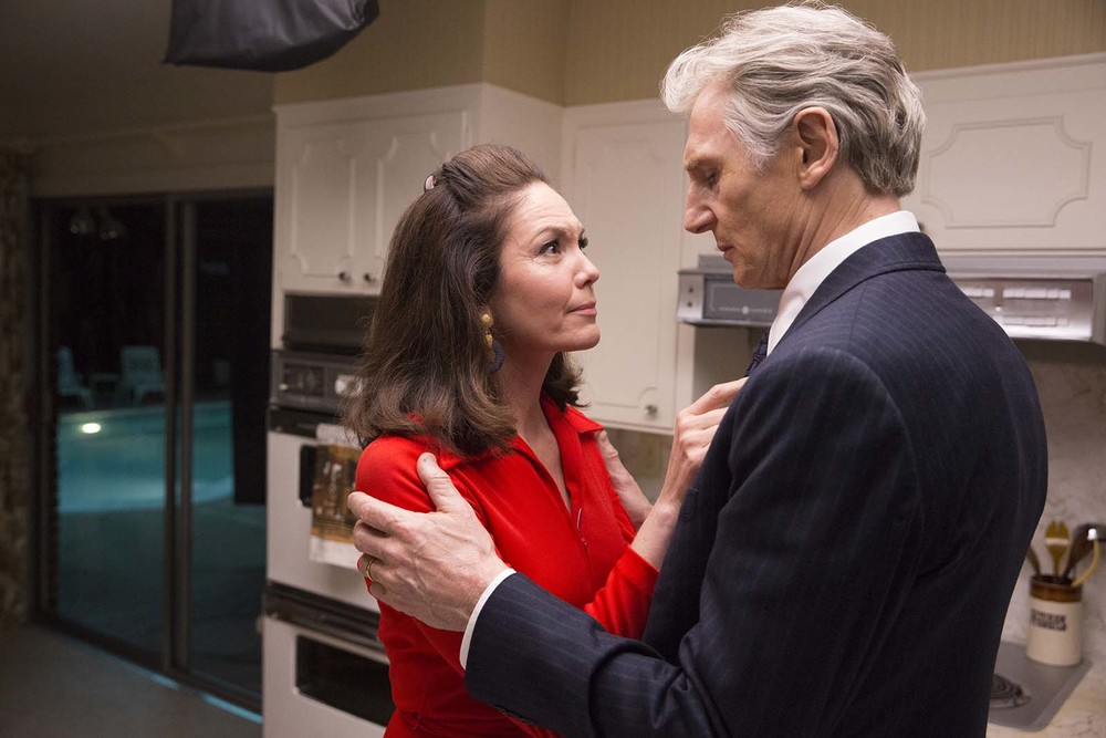 The Silent Man: Liam Neeson e Diane Lane in un momento del film
