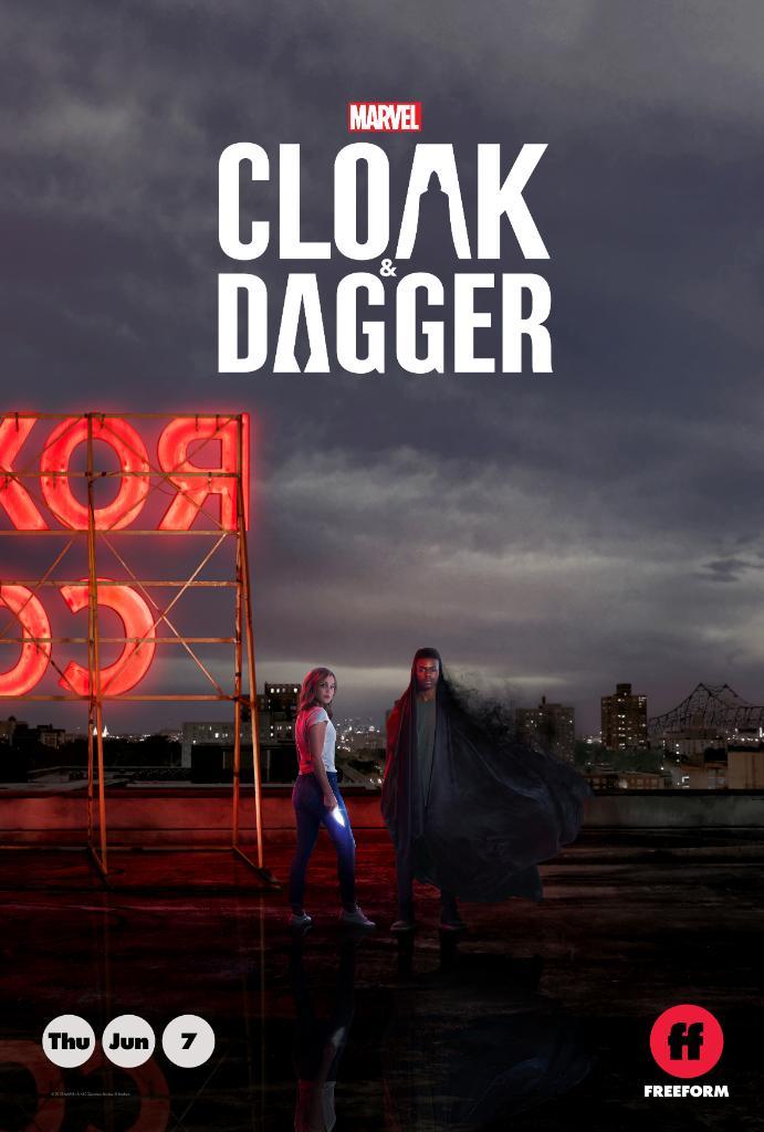 Cloak and Dagger: il poster del film