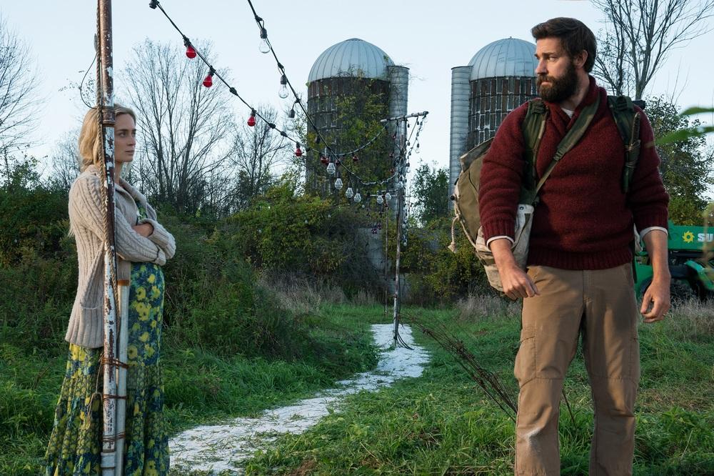 A Quiet Place - Un posto tranquillo: John Krasinski ed Emily Blunt in una scena del film