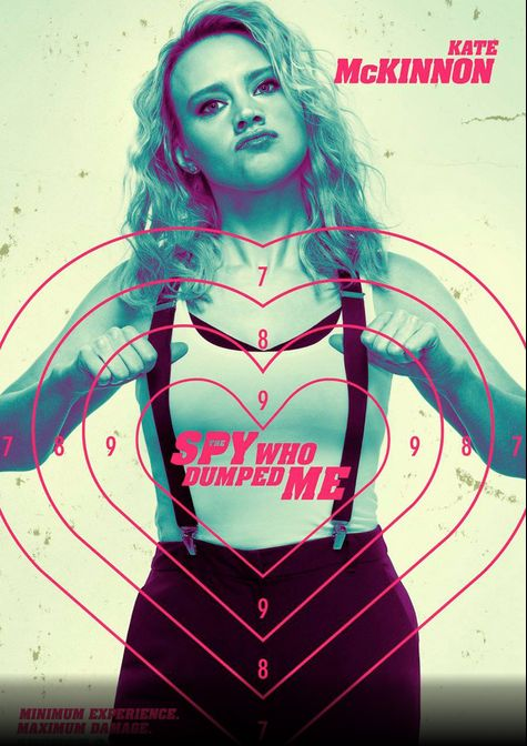 The Spy Who Dumped Me: il character poster di Kate McKinnon