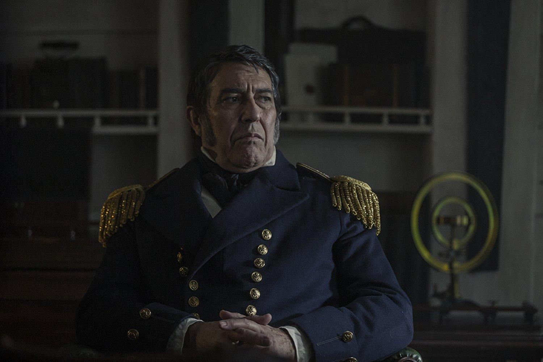 The Terror: Ciarán Hinds in una scena della serie