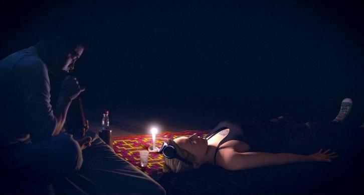 Icaros: A Vision, Ana Cecilia Stieglitz in un momento del film
