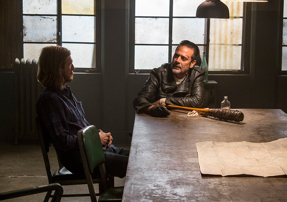 The Walking Dead: un'immagine dell'episodio intitolato Worth