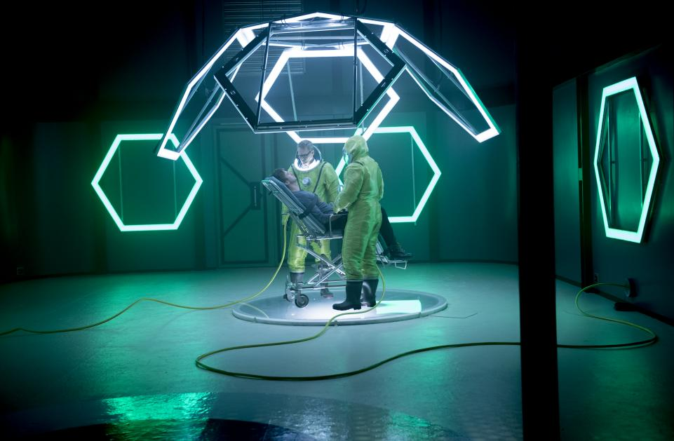 Legion: Dan Stevens in una scena dell'episodio Chapter 9