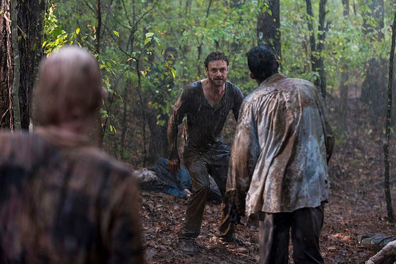 The Walking Dead: Ross Marquand  nell'episodio Worth
