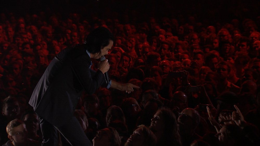 Distant Sky. Nick Cave & The Bad Seeds - Live in Copenaghen: Nick Cave in un'immagine tratta dal documentario