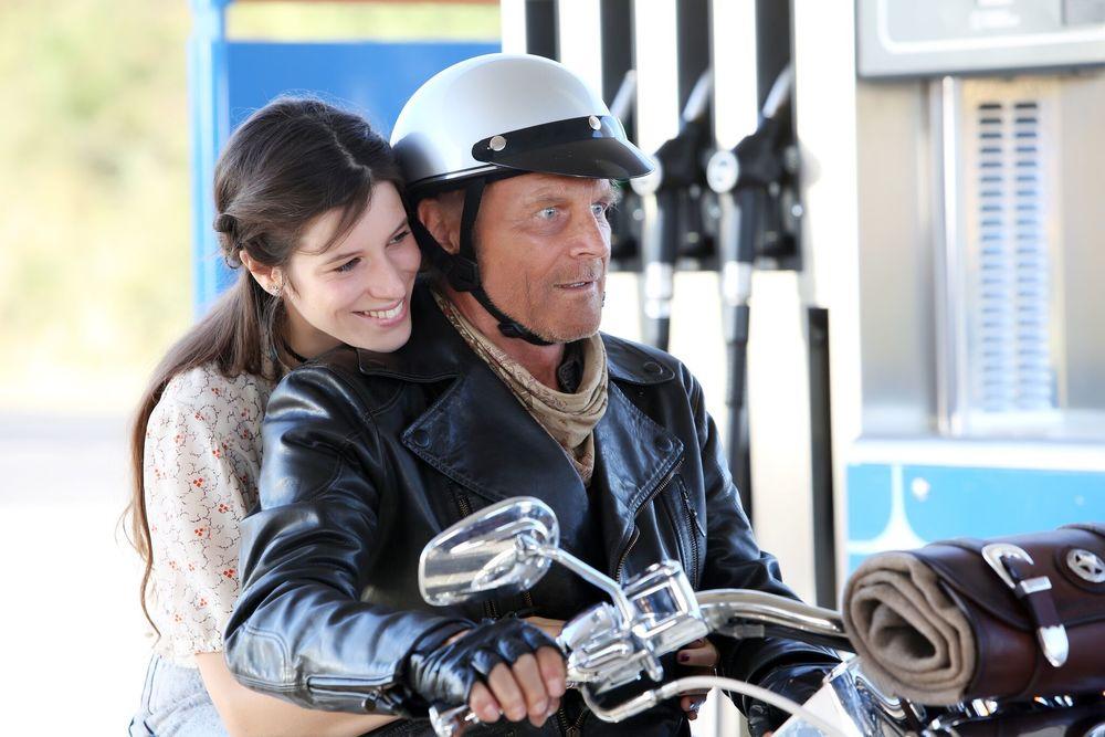 Il mio nome è Thomas: Terence Hill e Veronica Bitto in una scena del film