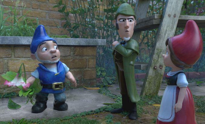 Sherlock Gnomes: un'immagine tratta dal film d'animazione