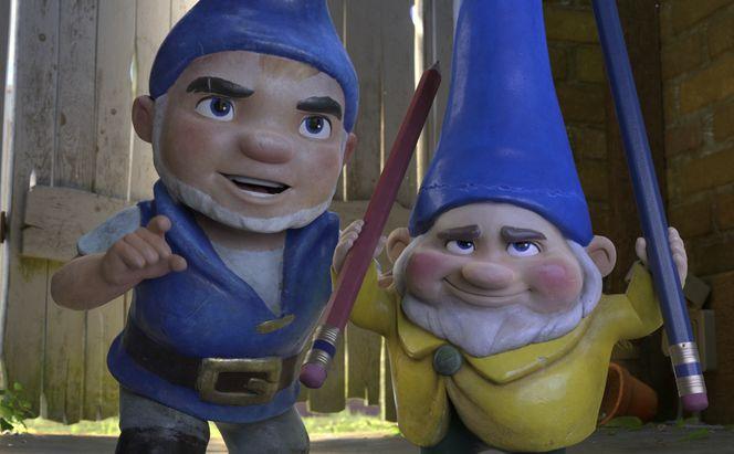 Sherlock Gnomes: un momento del film animato