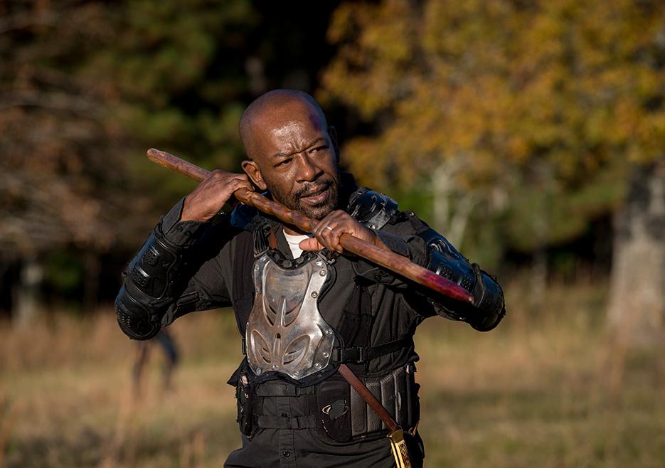 The Walking Dead: Lennie James in una foto di Wrath