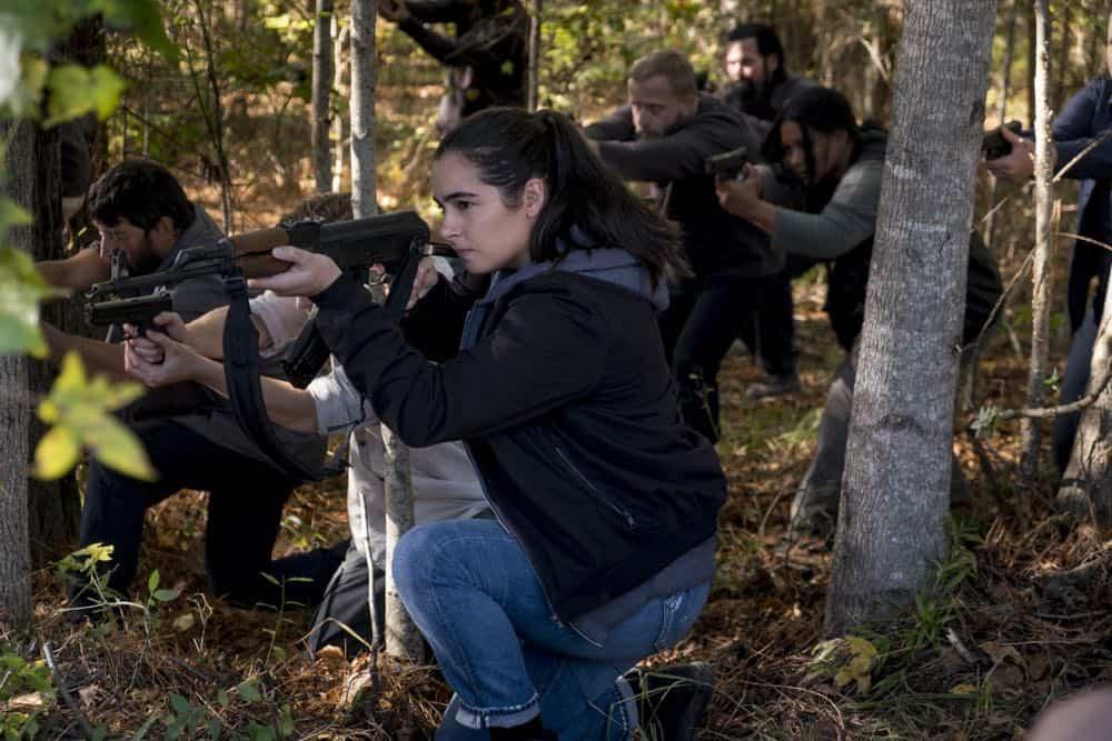 The Walking Dead: Alanna Masterson in Wrath