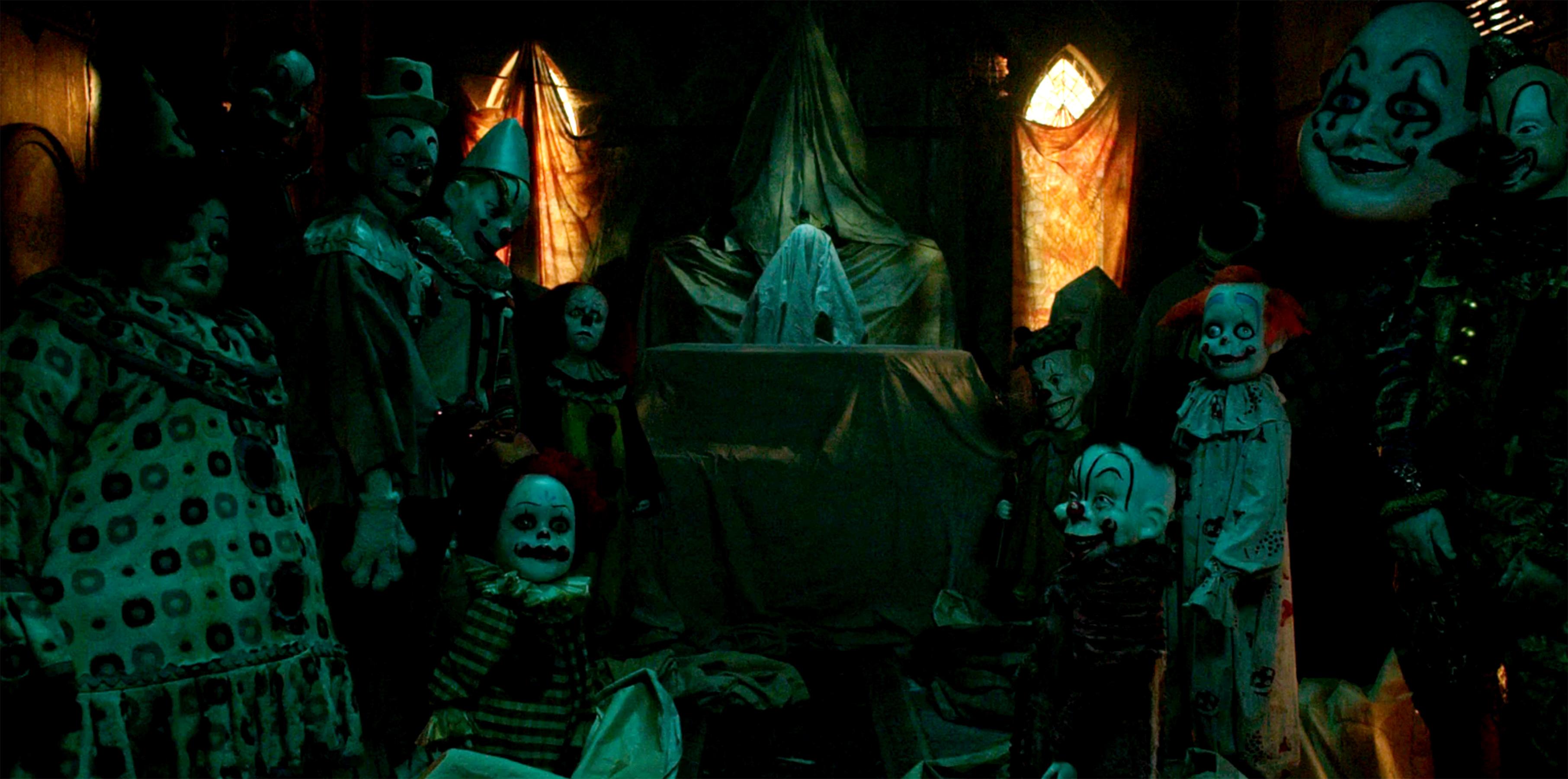 La stanza dei clown in una scena di It