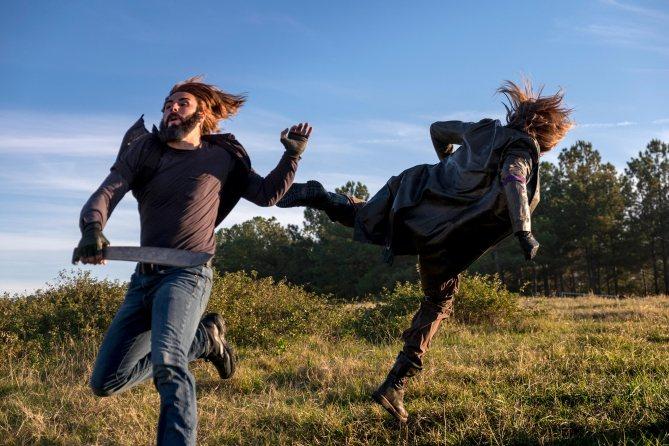 The Walking Dead: una scena dell'episodio Wrath