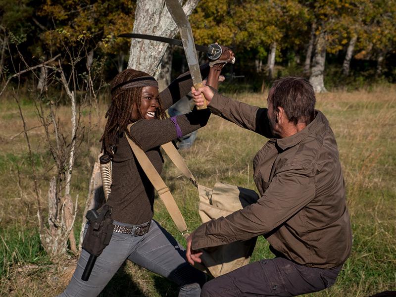 The Walking Dead: Danai Gurira nell'episodio Wrath