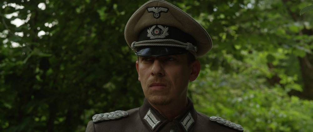 Le guerre horrende: Milton Welsh in una scena del film