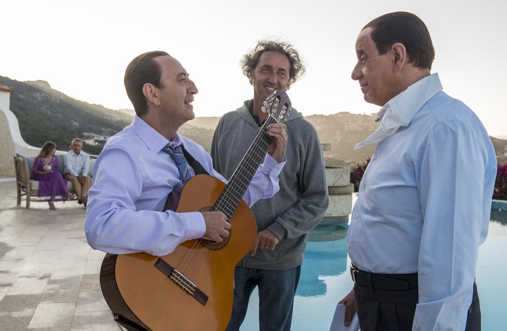 Loro 1: Toni Servillo, Giovanni Esposito e Paolo Sorrentino sul set del film