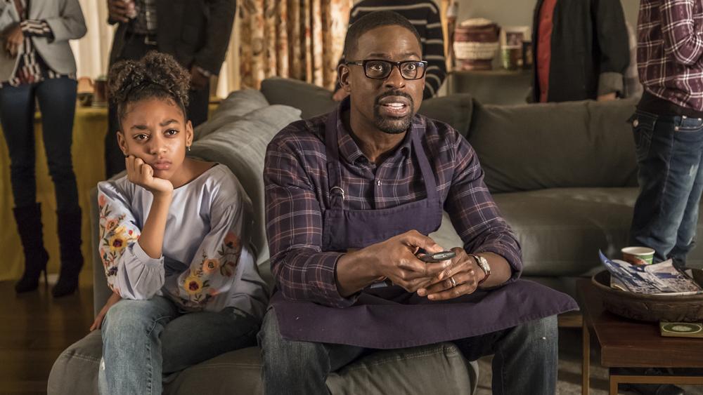 This Is Us: Sterling K. Brown in una foto della seconda stagione